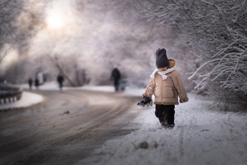 Зимняя сказка Ивоны Подлазиньска: