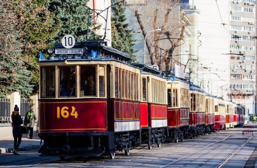 15 апреля в Москве пройдет парад трамваев