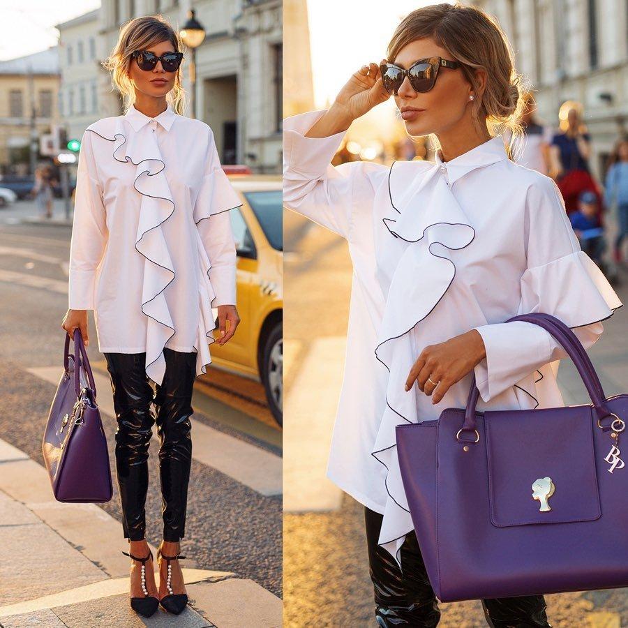 Белла Потемкина назвала топ-7 самых модных фасонов рубашек
