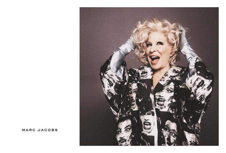 Бетт Мидлер стала лицом бренда Marc Jacobs
