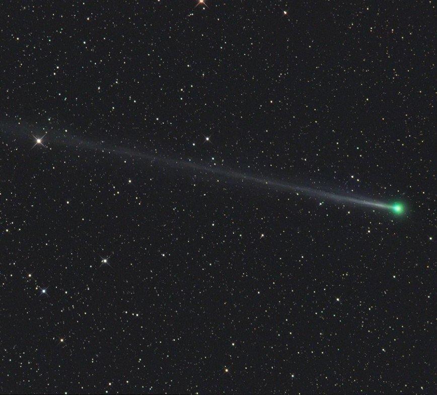 1 апреля над Москвой пролетит огромная комета