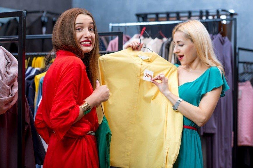 Размер одежды женщины меняется в среднем 31 раз