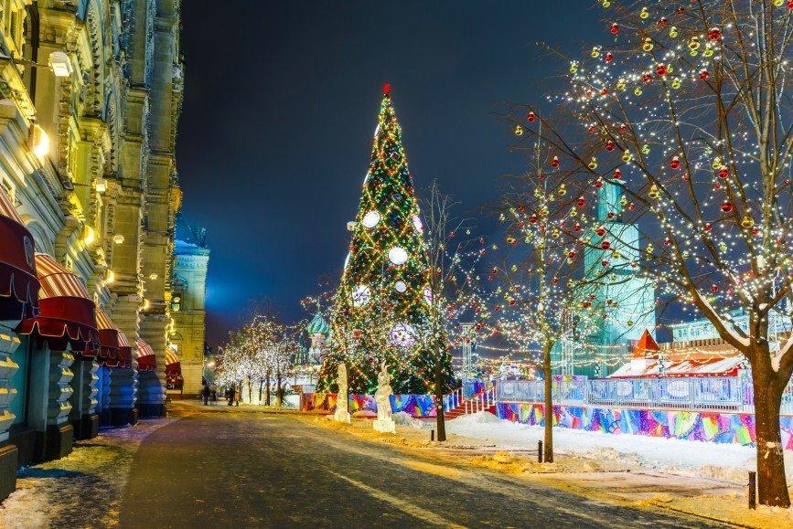 """Москву в новогодние каникулы ждет """"Путешествие в Рождество"""""""
