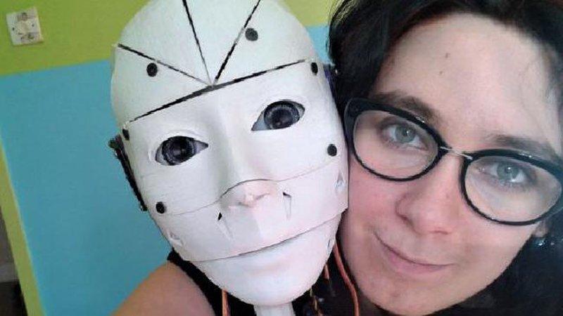 Француженка собралась замуж за робота