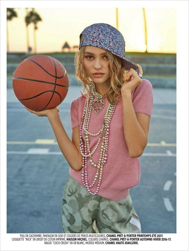 Лили-Роуз Депп:  Chanel и баскетбол