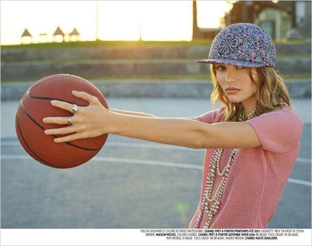 Лили-Роуз Депп:  Chanel и баскетбол: