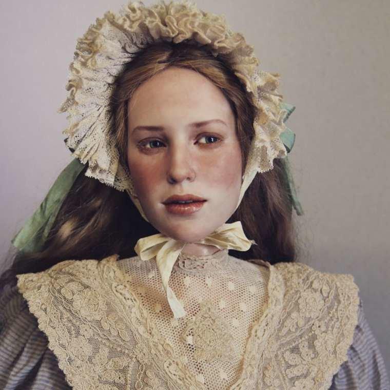 Пугающие и прекрасные куклы Михаила Зайкова