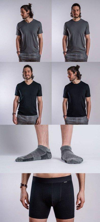 Дизайнеры придумали белье, которое не нужно стирать:
