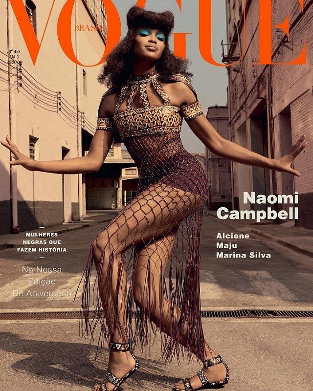 Наоми Кэмпбелл в Vogue Brazil