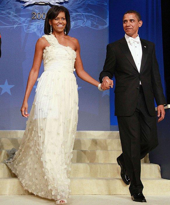 Платья для первой леди: 8 лет стиля Мишель Обамы
