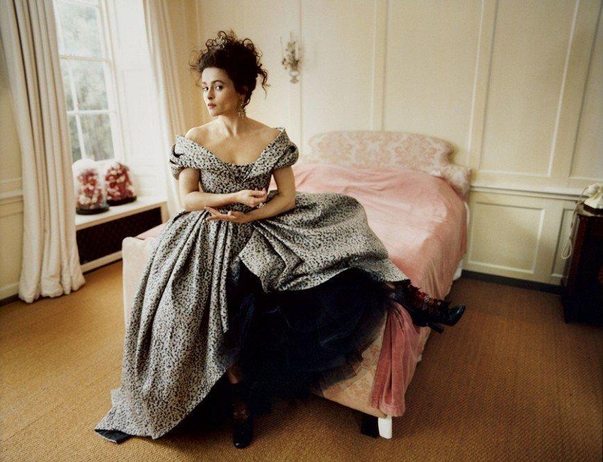 Хелена Бонем Картер в Harper's Bazaar UK