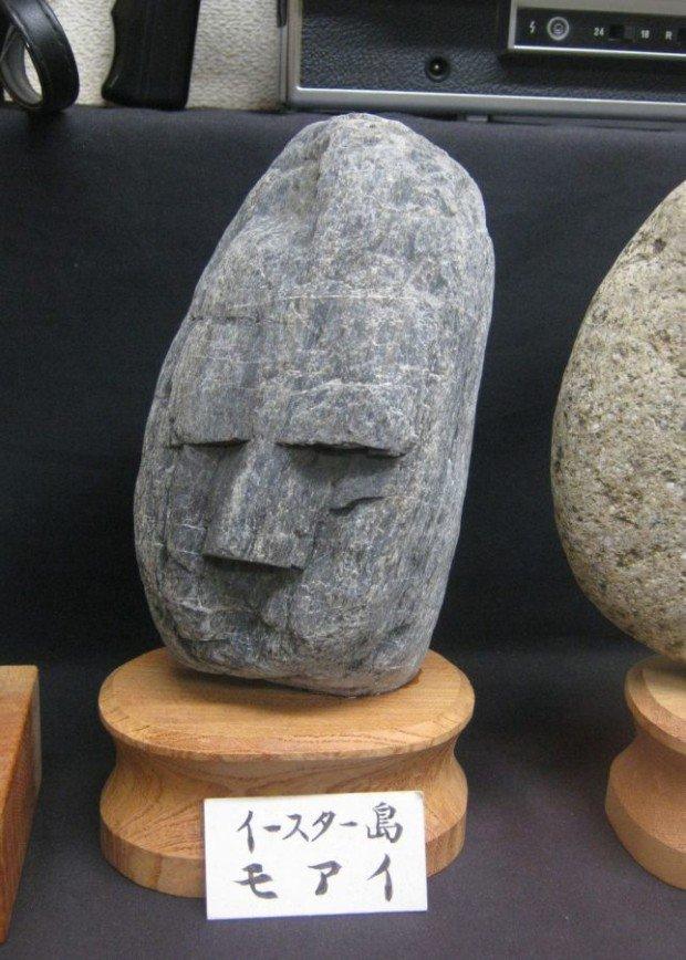 Музей камней,  похожих на  человеческие лица