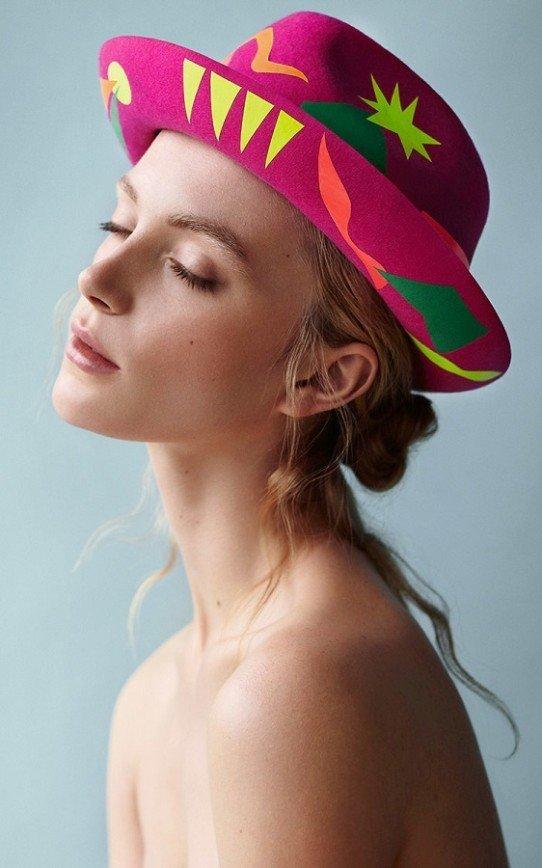 Шляпы, вдохновленные Матиссом