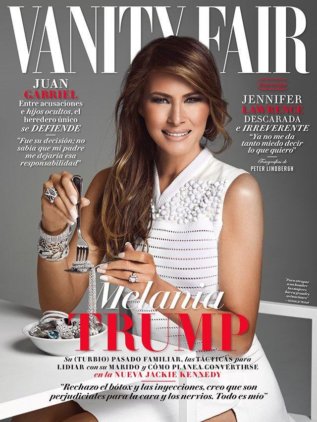 Мелания Трамп появится на обложке мексиканского глянца