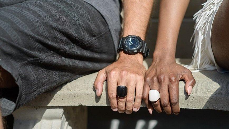 Смарт-кольцо с тревожной кнопкой