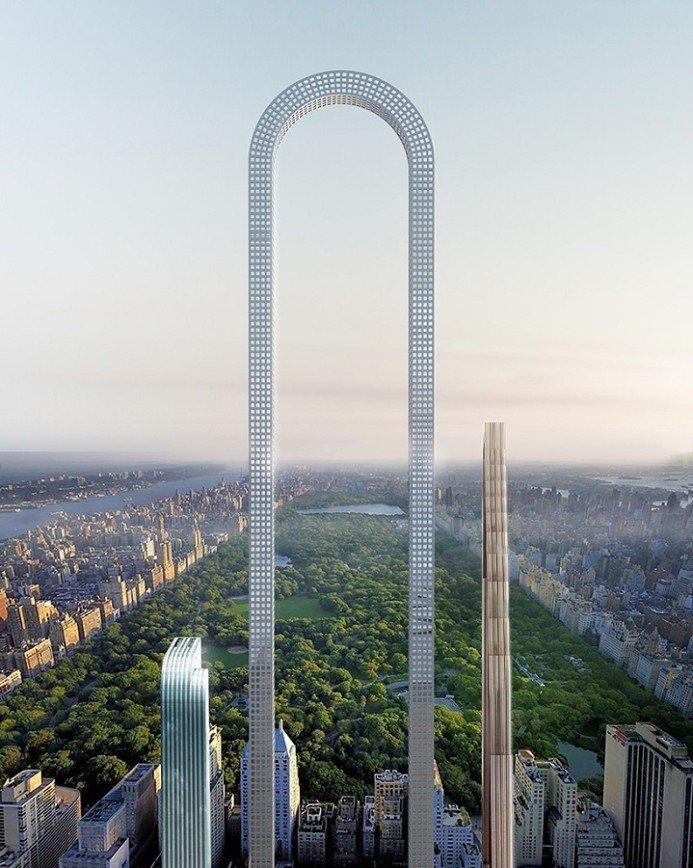 Big Bend - самый длинный небоскреб