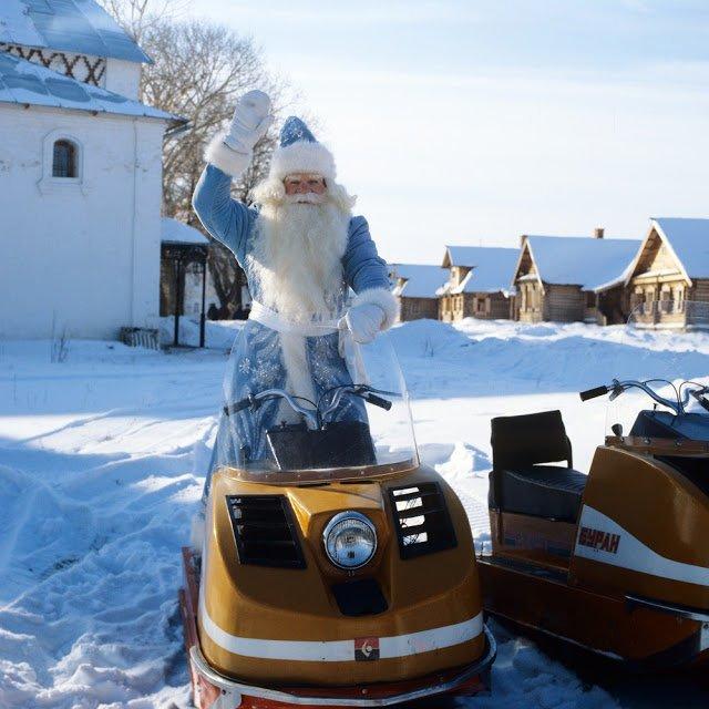 Советские Деды Морозы круче всех