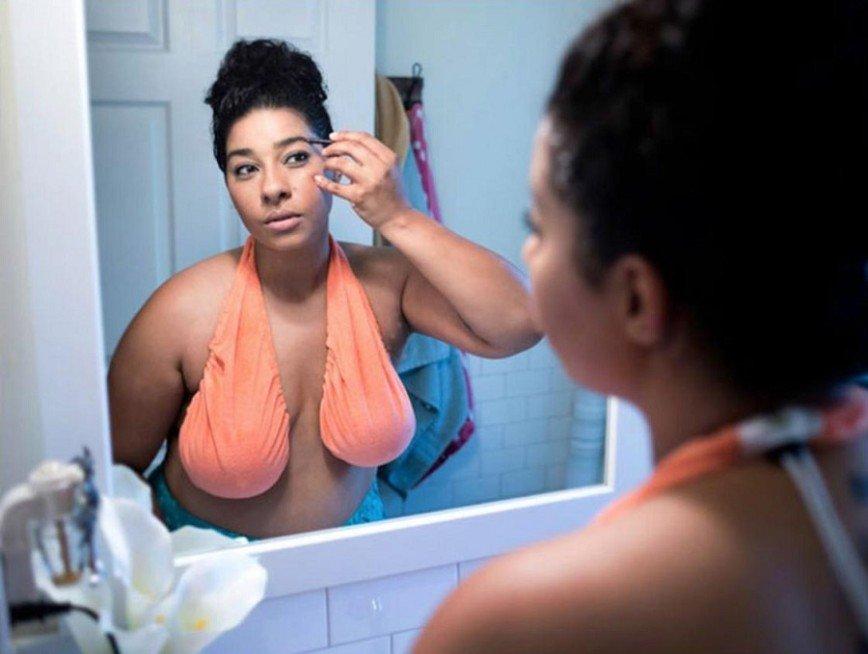 Гамак для груди вызвал ажиотаж среди обладательниц пышных форм