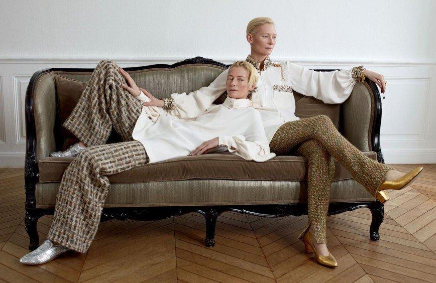 Тильда Суинтон в Madame Figaro