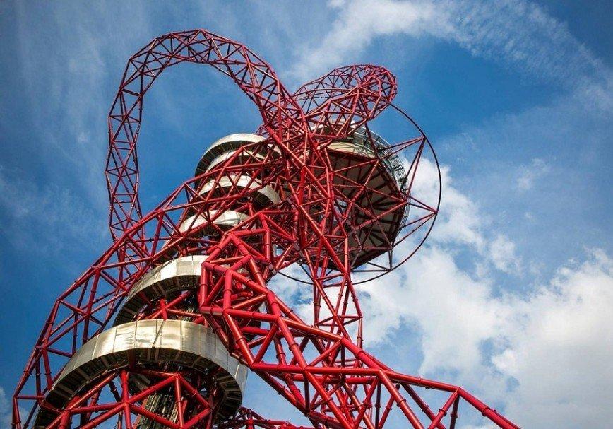 В Лондоне открылась самая высокая в мире горка