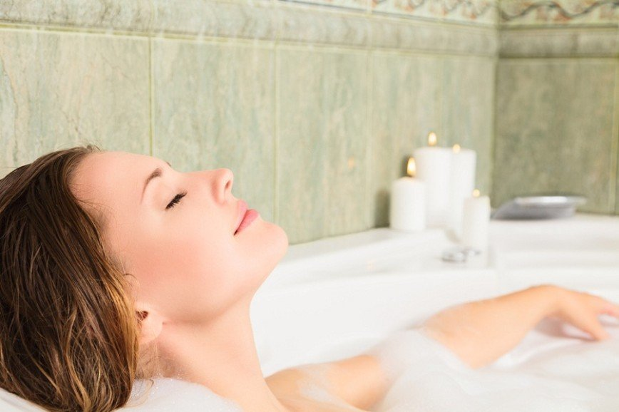 Горячая ванна помогает сжигать калории