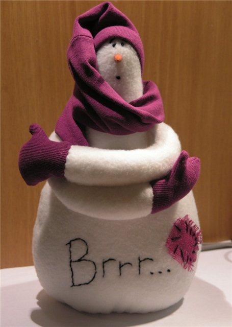 Снеговик бррр
