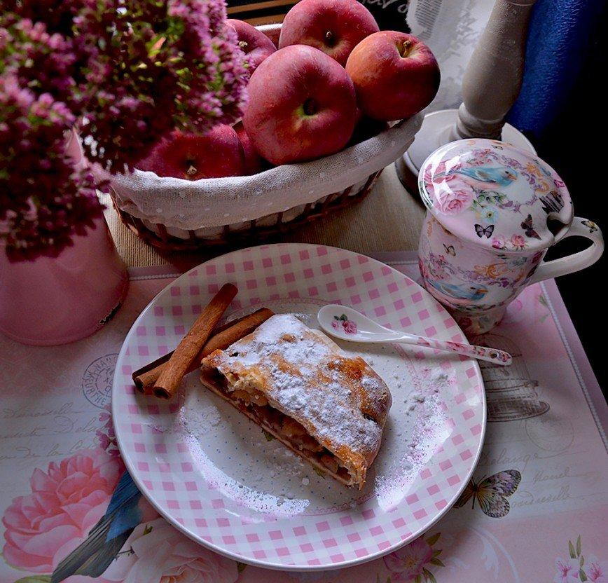 Автор: Bеggy, Фотозал: Мое хобби, Яблочный штрудель