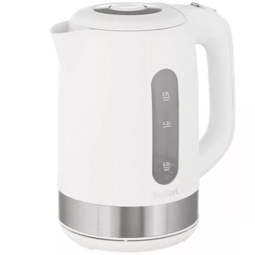 Новый в упаковке Чайник Tefal, Объем - 1.7л. Нагревательный элемент - Скрытая спираль Покрытие нагревательного элемента - Нержавеющая сталь Есть Защита от включения без воды