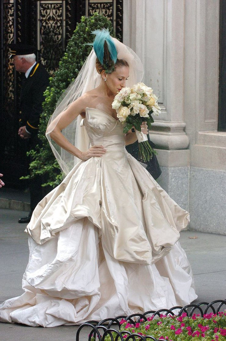5 самых красивых свадеб в кино — от «Дикого ангела» до «Гарри Поттера»