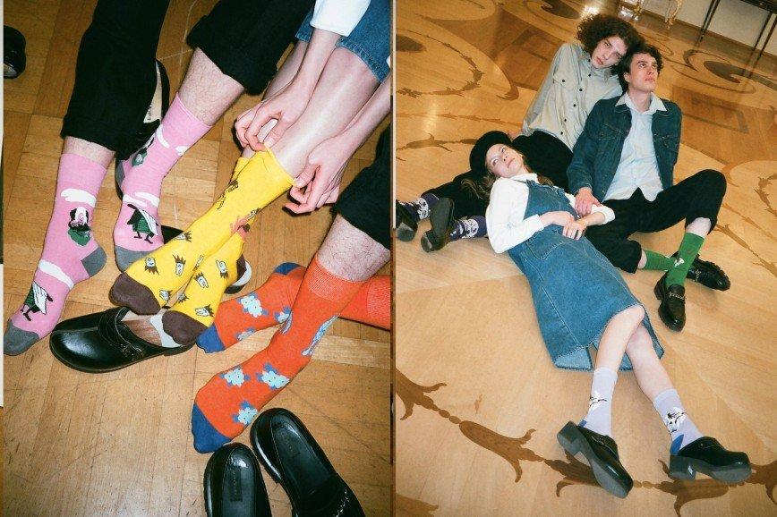 Баба Яга, Три медведя и Кощей Бессмертный запаслись носками: сказочная коллекция St.Friday Socks