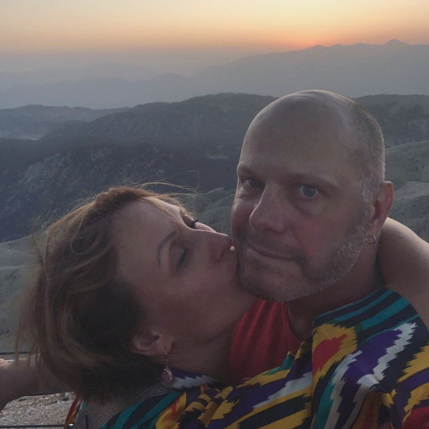 Алексея Кортнева поздравили с днем рождения горным пейзажем