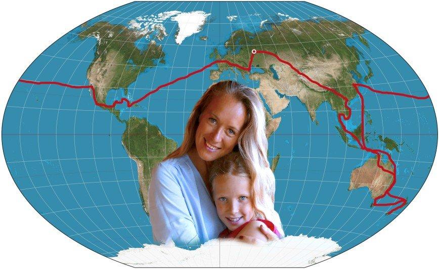 Девочки рулят: как мама и дочь за 250 дней совершили кругосветное путешествие