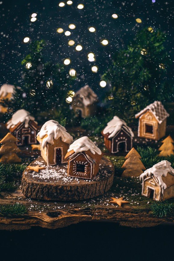 Волшебные пряничные домики с пошаговой фотоинструкцией