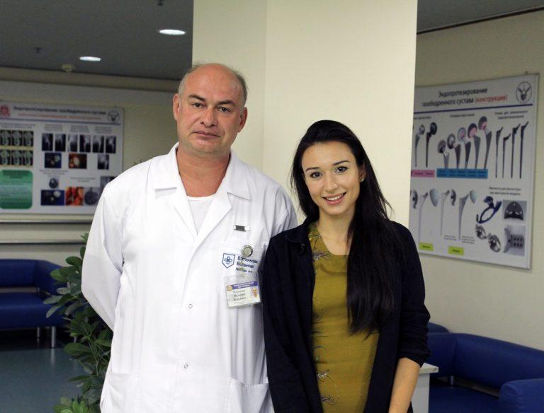 Московские врачи вернули молодой маме возможность ходить