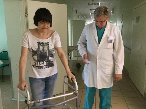 Шаг за шагом: столичные травматологи удлинили пациентке ногу