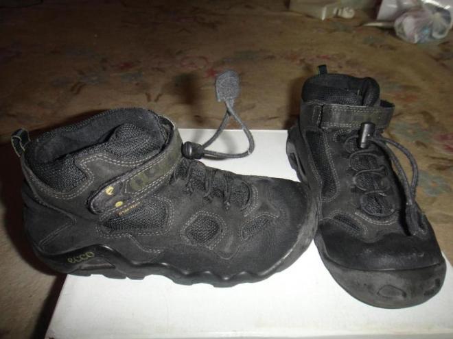 ботинки межсезонье экко состояние очень хорошее раз.35