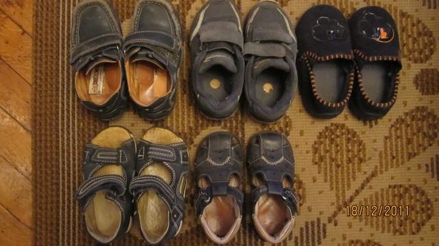 обувь на дачу р. 22-26 - за все 500 р.