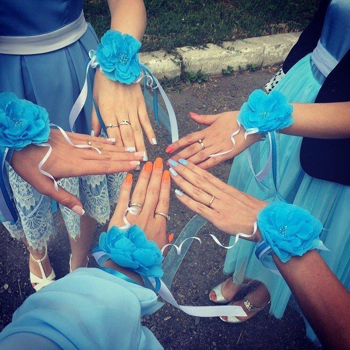 Автор: СветланиЯ, Фотозал: Свадьба, Такие повязочки для подружек невесты я делала на недавнюю свадьбу. Принимаю заказы! Любой цвет! Доставка в любую точку! :)
