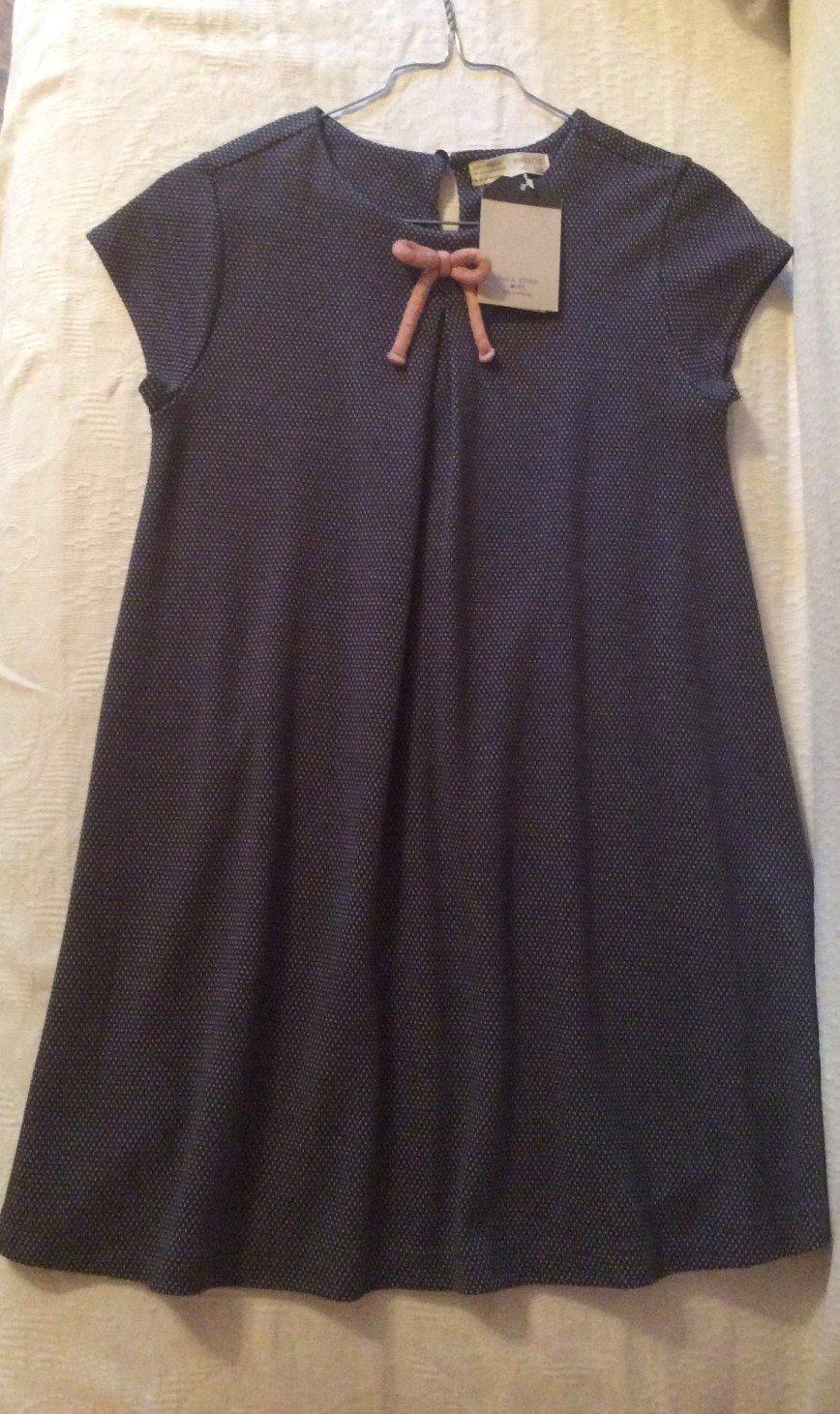 Новое платье Zara kids 152 Плотный мягкий трикотаж, на каждый день и на праздник Ценник 1800, отдам за 1200