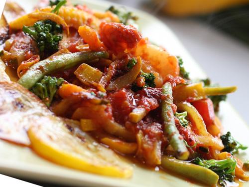 стручковая фасоль и кабачки рецепты быстро и вкусно