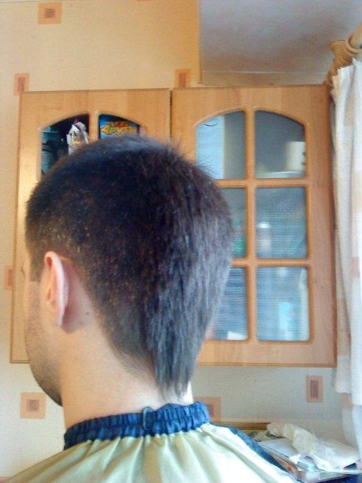 ирокез мужская стрижка фото