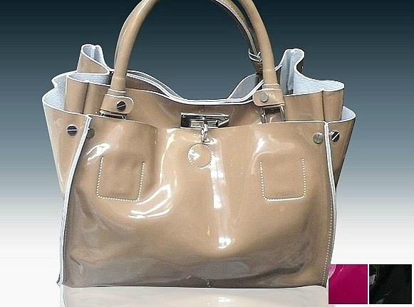 Продам сумку женскую Chloe черный лак Цена