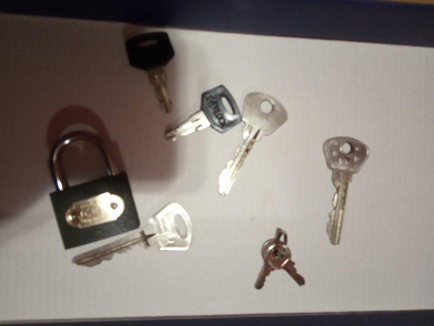 ключи и замки различные