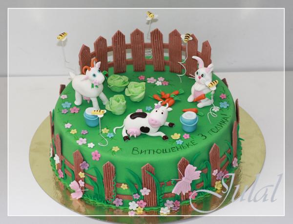 фото тортов детских сделаных дома