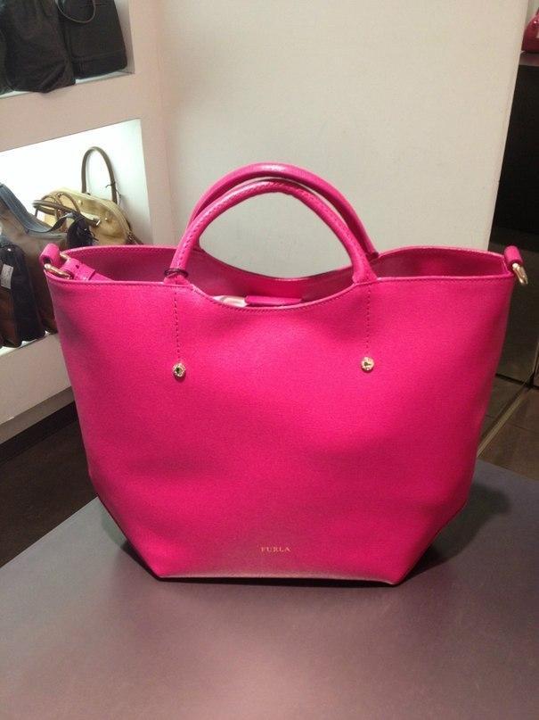 Женская красная сумка capriccio FURLA купить за 22000