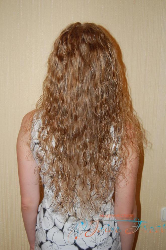Химия без укладки волос