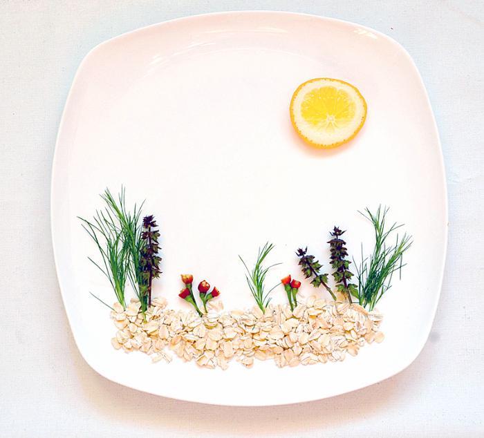 Картины на вашей тарелке