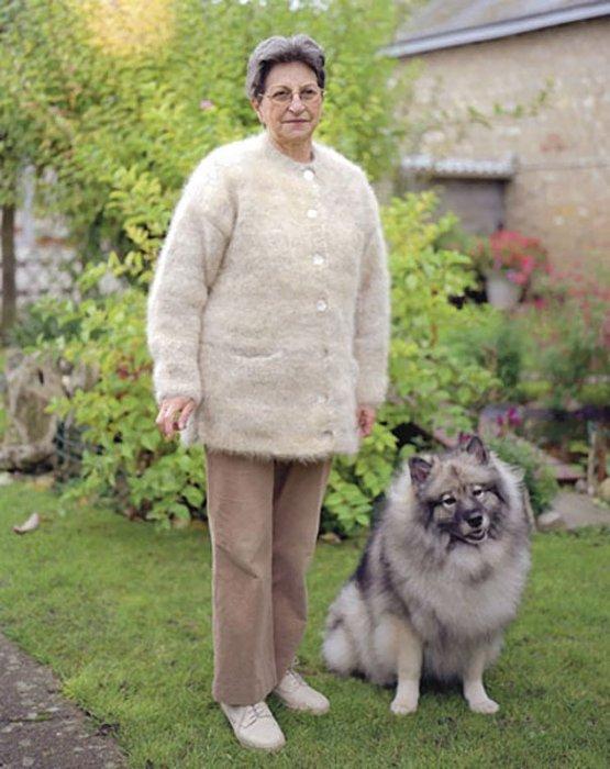 Одежда из шерсти питомцев: Можем вас заверить, что в процессе изготовления свитеров ни одно животное не пострадало. Все они с удовольствием позируют вместе со
