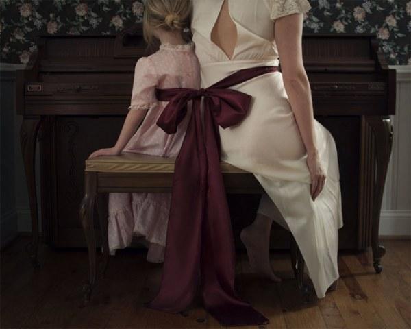Чувственные фотографии мамы и её маленькой дочери