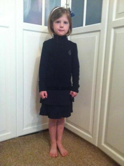 Вот и младшая в школу пойдет. В 6,8  Платье noble people рр 122